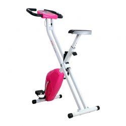 Αναδιπλούμενο Ποδήλατο Γυμναστικής Χρώματος Ροζ HOMCOM A90-149PK