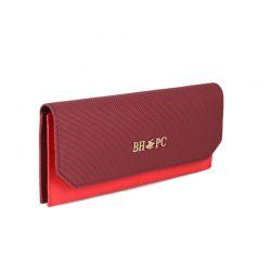 Γυναικείο Πορτοφόλι Χρώματος Μπορντό Beverly Hills Polo Club 1501 668BHP0504