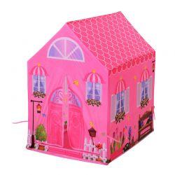 Παιδική Σκηνή 93 x 69 x 103 cm Princess Play Χρώματος Ροζ HOMCOM 345-006