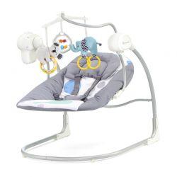 Παιδικό Ρηλάξ - Κούνια 2 σε 1 Χρώματος Mint KinderKraft Minky Swing KKBMINKYMIN000