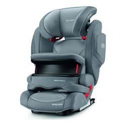 Παιδικό Κάθισμα Αυτοκινήτου Χρώματος Γκρι για Παιδιά 9-36 Kg Recaro Monza Nova IS Aluminium 61482150366