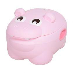 Φορητό Εκπαιδευτικό Γιογιό με Καπάκι Hippo 40 x 30 x 23 cm Χρώματος Ροζ HOMCOM 460-005PK