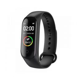 Ρολόι Fitness Tracker με Πιεσόμετρο και Μετρητή Καρδιακών Παλμών Smart Band M4 SPM M4-Smart