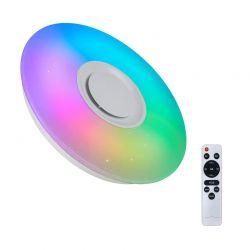 Έξυπνη Λάμπα Οροφής με LED Πολύχρωμο Φως και Τηλεχειριστήριο 36 W Hoppline HOP1001093