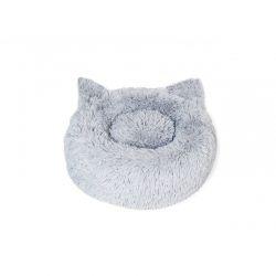 Μαξιλάρι Γάτας 40 cm Χρώματος Γκρι Inkazen 10110152