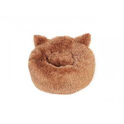 Μαξιλάρι Γάτας 40 cm Χρώματος Καφέ Inkazen 10110154