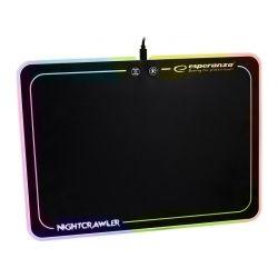 Gaming MousePad με LED RGB Φωτισμό Esperanza Nightcrawler EGP104