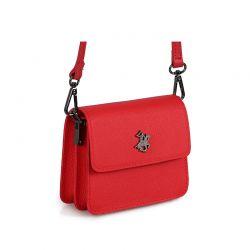 Γυναικεία Τσάντα Ώμου Χρώματος Κόκκινο Beverly Hills Polo Club 668BHP0189