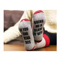 Unisex Ζεστές Κάλτσες Σπιτιού με Μήνυμα SPM VL2719
