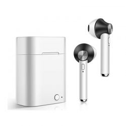 Ασύρματα Ακουστικά Bluetooth με Βάση Φόρτισης Χρώματος Μαύρο Kequ DYN-K409