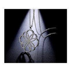 Κολιέ Diamond Flower με Κρύσταλλα Swarovski® Beloved 652061