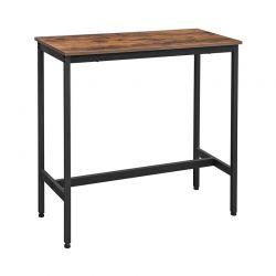 Μεταλλικό Ορθογώνιο Τραπέζι - Bar 100 x 40 x 90 cm VASAGLE LBT10X