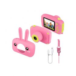 Παιδική Ψηφιακή Φωτογραφική Μηχανή 12MP 1080P Χρώματος Ροζ SPM DYN-5059059076301