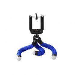 Τρίποδο Χταπόδι με Βάση Στήριξης Κινητού / Κάμερας Χρώματος Μπλε SPM DB7988