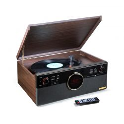 Μετατροπέας Bluetooth Δίσκων Βινυλίου και Κασετών CD FM DAB Technaxx TX-137