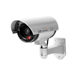 Ψεύτικη Ασύρματη Κάμερα Παρακολούθησης με LED Φως CCD Dummy Security Camera Technaxx TX-18