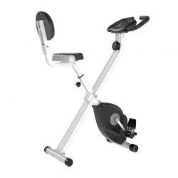 Αναδιπλούμενο Μαγνητικό Ποδήλατο Γυμναστικής Χρώματος Μαύρο HOMCOM A90-192GY