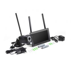 """Σετ Κάμερα Παρακολούθησης με Οθόνη Αφής 7 """" Technaxx TX-128"""