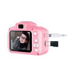 Παιδική Ψηφιακή Φωτογραφική Μηχανή Χρώματος Ροζ SPM 5908222214111-Pink