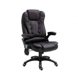 Καρέκλα Γραφείου Μασάζ 8 Σημείων με Τηλεχειριστήριο Hoppline HOP1001119-2