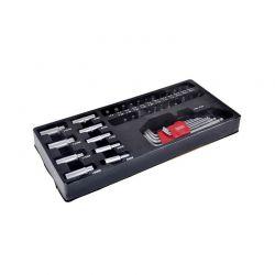 Εργαλειοθήκη με Εργαλεία 42 τμχ Bass Polska BP-3067
