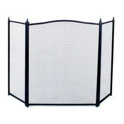 Μεταλλική Σίτα Τζακιού Τρίφυλλη 100 x 62 cm Kaminer 0833