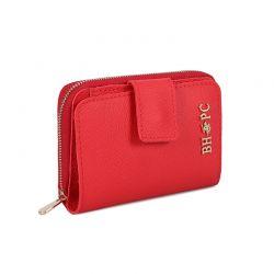 Γυναικείο Πορτοφόλι Χρώματος Κόκκινο Beverly Hills Polo Club 1507 668BHP0557