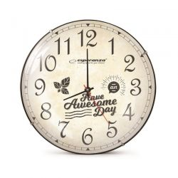 Ρολόι Τοίχου Esperanza Lausanne EHC018L