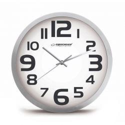Ρολόι Τοίχου Esperanza Zurich Χρώματος Λευκό EHC013W