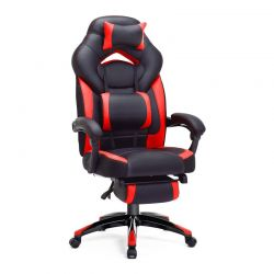 Καρέκλα Gaming με Υποπόδιο Songmics OBG77BR