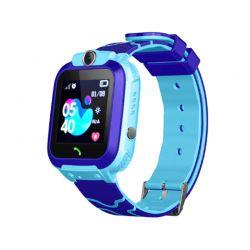 Παιδικό Ρολόι με GPS και Κάρτα SIM Χρώματος Μπλε Q12 SPM Q12-Blue