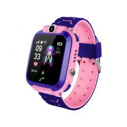 Παιδικό Ρολόι με GPS και Κάρτα SIM Χρώματος Ροζ Q12 SPM Q12-Pink