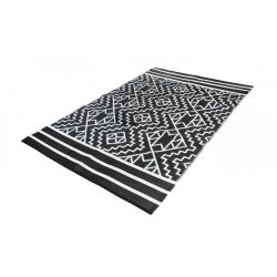 Χαλί Εξωτερικού Χώρου 160 x 240 cm Χρώματος Μαύρο Inca Inkazen 40050189