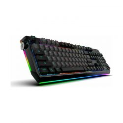 Ενσύρματο Μηχανικό Πληκτρολόγιο Gaming Wired USB RGB Silver Switch GR Layout CK80 Motospeed MT00011