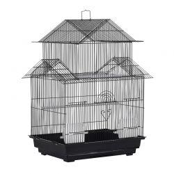 Μεταλλικό Κλουβί Πτηνών 51 x 47 x 67 cm PawHut D10-062BK