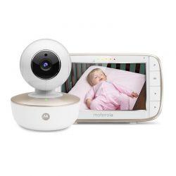 """Συσκευή Παρακολούθησης Μωρού με Έγχρωμη LCD Οθόνη 5"""" Motorola MBP855"""