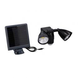 Διπλός Ηλιακός LED Προβολέας 2 x 3 W με Ανιχνευτή Κίνησης και Φωτοβολταϊκό Συλλέκτη Grundig 06993