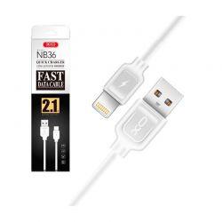 Καλώδιο Γρήγορης Φόρτισης - Μεταφοράς Δεδομένων USB Type C 1 m XO NB36-TypeC