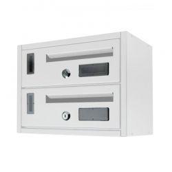 Μεταλλικό Γραμματοκιβώτιο 2 Θέσεων 23 x 18 x 30 cm MWS16048