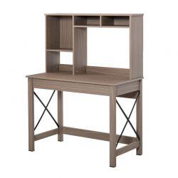 Ξύλινο Γραφείο με Βιβλιοθήκη 105 x 50 x 137.5 cm HOMCOM 836-321BN