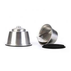 Επαναγεμιζόμενη Κάψουλα Καφέ Espresso από Ανοξείδωτο Ατσάλι για Καφετιέρες Dolce Gusto Cook Concept KA4559