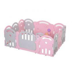 Πλαστικός Παιδότοπος - Φράχτης Παιχνιδιού 162 x 122 x 63 cm HOMCOM 431-041PK