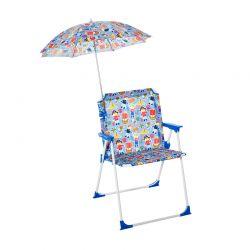Παιδική Πτυσσόμενη Καρέκλα με Όμπρέλα 44.5 x 43 x 64.5 cm Outsunny 312-027V01