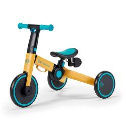 Παιδικό Πτυσσόμενο Τρίκυκλο Ποδήλατο KinderKraft 4Trike Χρώματος Κίτρινο KR4TRI00YEL0000