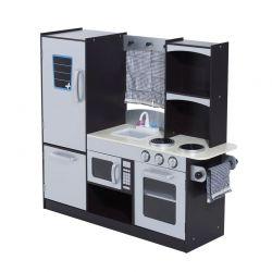 Ξύλινη Παιδική Κουζίνα 105 x 31.5 x 95 cm HOMCOM 350-004