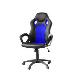 Καρέκλα Gaming Χρώματος Μπλε Hoppline HOP1000870-2