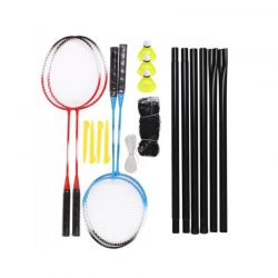 Σετ Badminton με 4 Ρακέτες και Δίχτυ Hoppline HOP1001173
