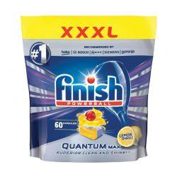 Απορρυπαντικό Πλυντηρίου Πιάτων Finish Quantum Max Lemon 60 Ταμπλέτες FIN-5997321733470