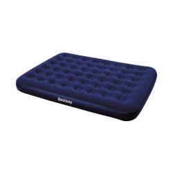 Φουσκωτό Βελούδινο Στρώμα Ύπνου Διπλό 203 x 152 x 22 cm Bestway 3621