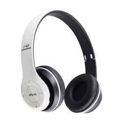 Ασύρματα Ακουστικά Bluetooth P47 Χρώματος Λευκό SPM P47-White